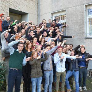 Gruppenbild der MeStuTa WS14/15 in Paderborn