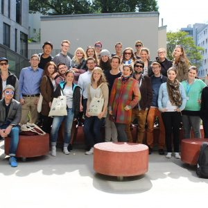 Gruppenbild der MeStuTa SS14 in Wien