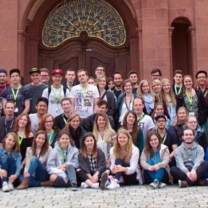Gruppenbild der MeStuTa SS15 in Mannheim