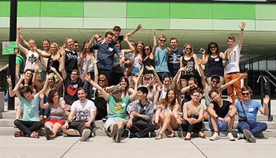 Gruppenbild der MeStuTa SS17 in Hohenheim