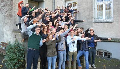 Gruppenbild der MeStuTa WS16/17 in Trier