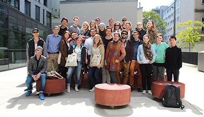 Gruppenbild der MeStuTa SS16 in Aachen