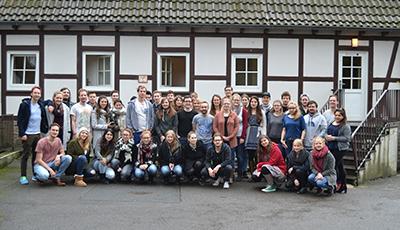 Gruppenbild der MeStuTa WS17/18 in Mainz