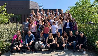 Gruppenbild der MeStuTa SS19 in Berlin
